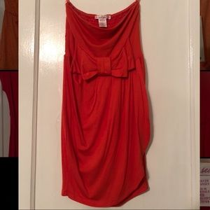 Size XS strapless dress